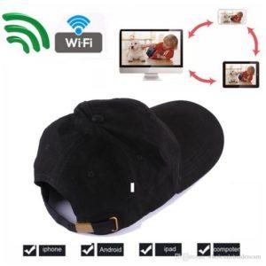 Mũ camera IP WIFI Ngụy TrangFull HD 1080plà sản phẩm hot và độc nhất hiện nay. Không ai có thể ngờ bên trong chiếc mũ rất bình thường này lại được gắn camera bí mật bên trong.