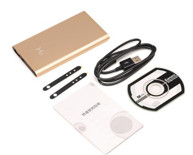 Camera IP Wifi H8 ngụy trang sạc dự phòngđược thiết kế độc đáo, nhỏ gọn, đẹp mắt ngụy trang hoàn hảo như sạc dự phòng thông thường được yêu thích nhất trên thị trường hiện nay giúp bạn mang theo bên mình mọi lúc mọi nơi.
