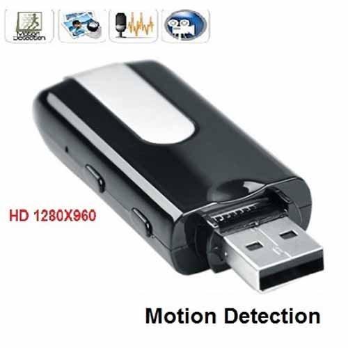 Camera siêu nhỏ ngụy trang USB này được gắn một mắt camera ngụy trang siêu nhỏ giúp bạn quay video, chụp ảnh, ghi âm một cách chân thực và sống động nhất.