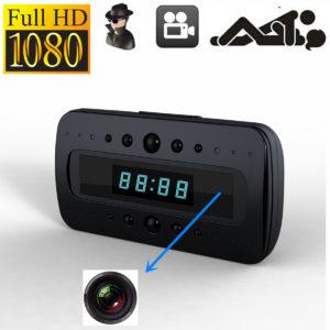 Đồng hồ camera để bàn quay đêm V26 hỗ trợ ghi hình siêu nét ở mọi điều kiện