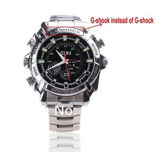 Đồng hồ camera G-Sock Full HD dây sắt với những tính năng nổi bật, được đánh giá cao.