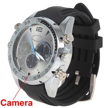 Đồng Hồ Camera W5000 Full HD Chống Nước với camera siêu nhỏ được giấu kín bên trong