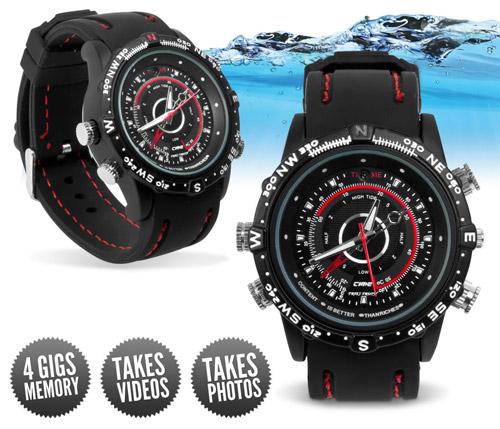 Đồng hồ đeo tay camera thời trang là một trong những thiết bị ngụy trang ghi hình tốt nhất hiện nay