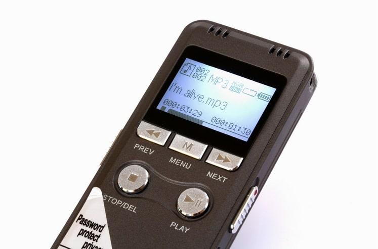 Máy ghi âm cao cấp GH-700 8GB hỗ trợ lưu trữ âm thanh chính xác