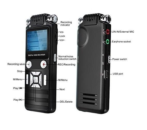 Máy ghi âm chuyên nghiệp siêu lọc âm K7 8GB một trong những sự lựa chọn không thể bỏ qua
