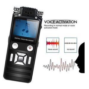 Máy ghi âm chuyên nghiệp siêu lọc âm K7 8GB là thiết bị ghi âm số 1 hiện nay