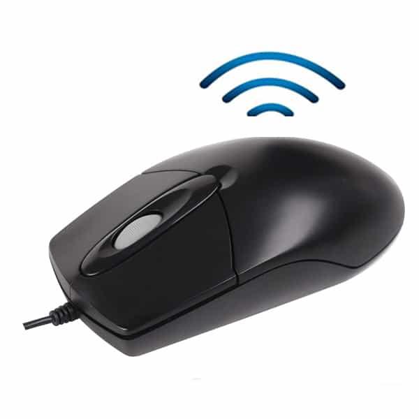Thiết bị nghe lén ngụy trang chuột máy tính thế hệ mới