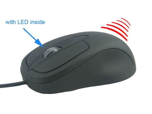 Máy nghe lén ngụy trang chuột máy tính là sự lựa chọn mà bạn không nên bỏ qua khi cần ngụy trang nghe lén
