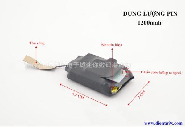 Máy nghe lén và định vị X55 có lọc âm pin cực lâu với thiết kế tích hợp được nhiều khả năng sử dụng trong 1 sản phẩm