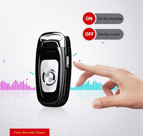 Móc khóa ghi âm Q5 sở hữu những tính năng mới hỗ trợ tăng khả năng ghi âm chất lượng