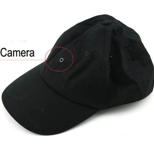Mũ camera ngụy trang siêu khéo léo hỗ trợ thu hình khéo léo không sợ bị phát hiện