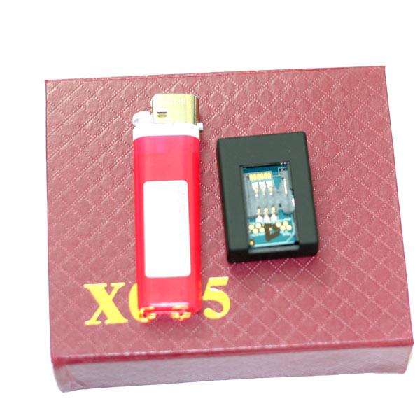 Thiết bị nghe lén và định vi X005 với khả năng ghi hình thu âm chất lượng cao.