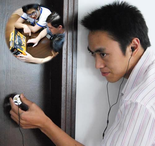 Máy nghe lén xuyên tường hỗ trợ nghe lén khi có vật cản mà bạn không cần lo lắng
